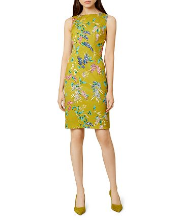 HOBBS LONDON - Moira Floral Print Sheath Dress