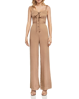 Bcbgmaxazria Becka Lace-Up Jumpsuit