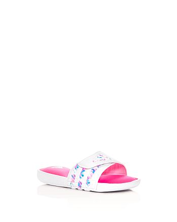 Adidas - Girls' Adissage Comfort Pool Slide Sandals - Toddler, Little Kid, Big Kid