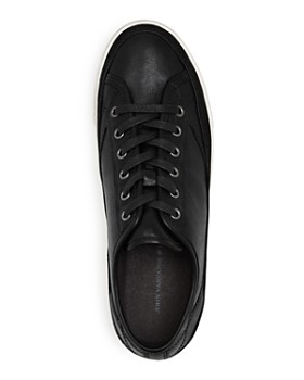 John Varvatos Star USA - Men's Jet Leather Lace Up Sneakers