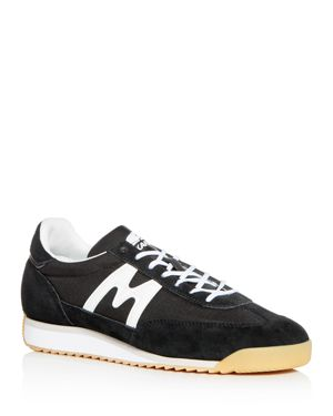 KARHU Men'S Champion Air Lace Up Sneakers in Black/White