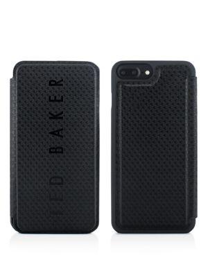 Callst Card Slot Folio Iphone 6/7/8 Plus Case in Black