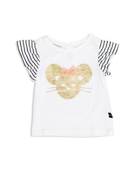 Huxbaby - Girls' Mouse Tee - Baby