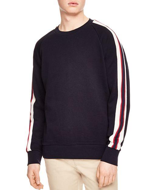 Sandro - Stripe Sweatshirt
