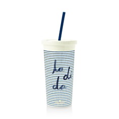 kate spade new york Seersucker Tumbler with Straw - Bloomingdale's_0