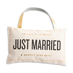 Rosanna Just Married Door Pillow - Bloomingdale's_0