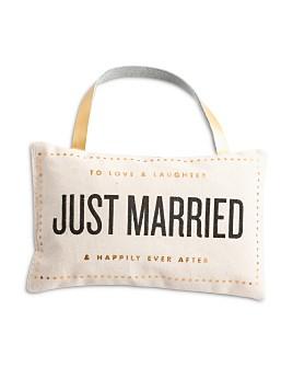 Rosanna - Just Married Door Pillow