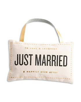 Rosanna - Just Married Door Pillow
