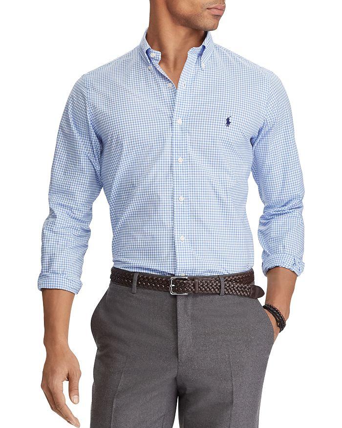 16fff6bd Polo Ralph Lauren Poplin Slim Fit Button-Down Shirt | Bloomingdale's