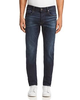 G-STAR RAW - 3301 Slim Fit Jeans in Medium Blue