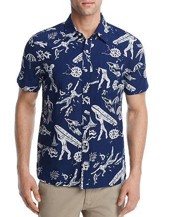 Levi's - Hawaiian Regular Fit Button-Down Shirt
