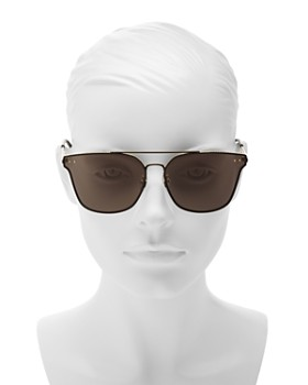 Bottega Veneta - Women's Brow Bar Square Sunglasses, 68mm