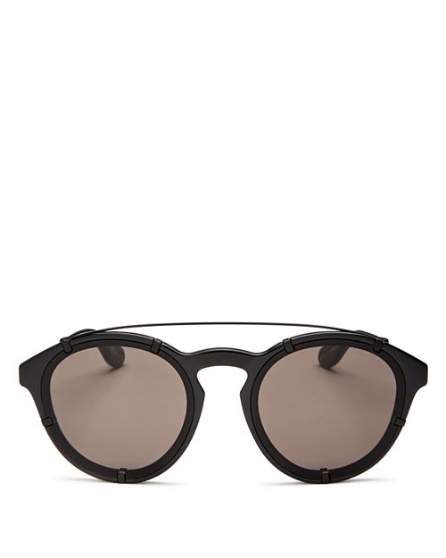 Givenchy - Women's Brow Bar Round Sunglasses, 53mm