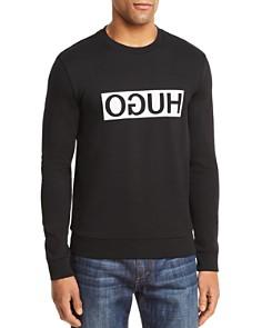 Hugo Boss Dicago Reverse Logo Crewneck Sweatshirt - Bloomingdale's_0