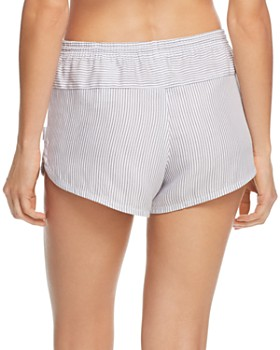 Calvin Klein - Striped Sleep Shorts