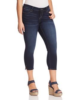 SLINK Jeans Plus - Skinny Crop Jeans in Amber