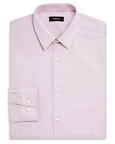 Theory - Textured Solid Regular Fit Dress Shirt