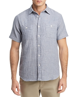 Oobe Union Striped Regular Fit Button-Down Workshirt