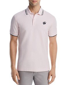 McQ Alexander McQueen Tipped Swallow Polo Shirt - Bloomingdale's_0