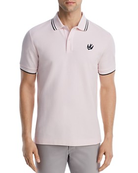 McQ Alexander McQueen - Tipped Swallow Polo Shirt