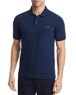 McQ Alexander McQueen Tipped Swallow Polo Shirt