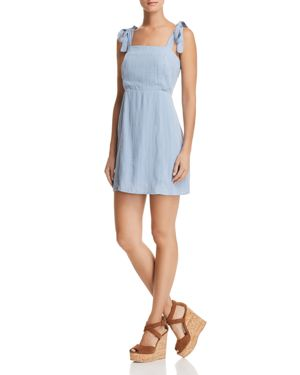 SAGE THE LABEL Sage The Label Dream Girl Shift Dress in Ice Blue