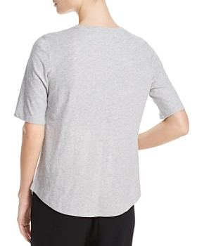 Eileen Fisher - Organic Cotton Crewneck Tee, Regular & Petite