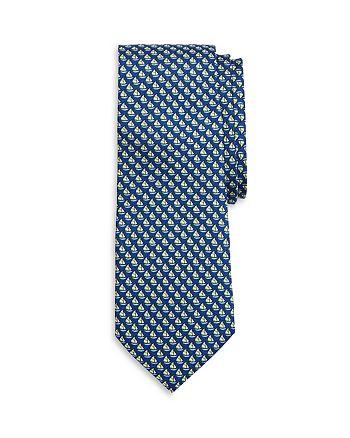 Brooks Brothers - Boys' Sailboat-Print Tie