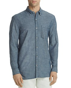 Joe's Jeans Sandoval Chambray Button-Down Shirt - Bloomingdale's_0
