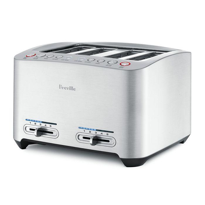 Breville - Die-Cast 4-Slice Toaster by