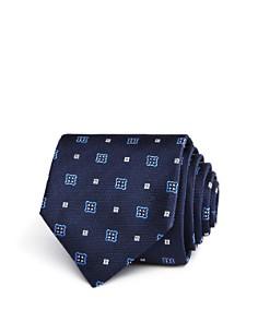 HUGO Medallion Neat Skinny Tie - Bloomingdale's_0