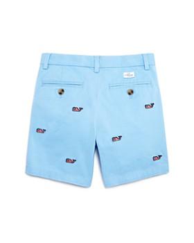 Vineyard Vines - Boys' Embroidered Flag-Print Whale Breaker Shorts - Little Kid, Big Kid