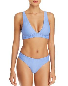 Red Carter - The Wave Plunge Bikini Top & Lola Bikini Bottom