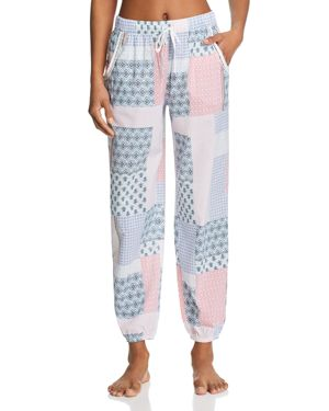 JANE & BLEECKER NEW YORK PRINTED PJ PANTS