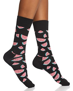 Happy Socks Watermelon Crew Socks - Bloomingdale's_0