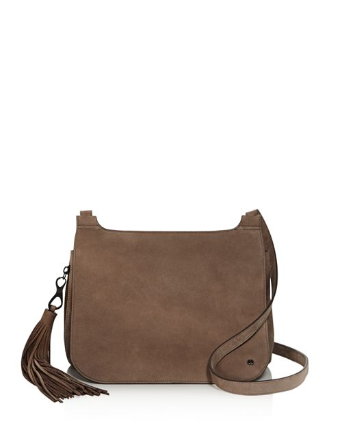 HALSTON HERITAGE - Christie Nubuck Leather Crossbody