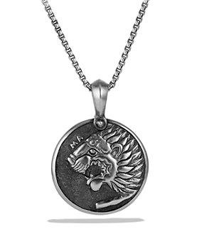 David Yurman - Petrvs Lion Coin Amulet
