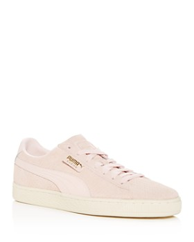 PUMA - Men's Classic Perforated Suede Lace Up Sneakers