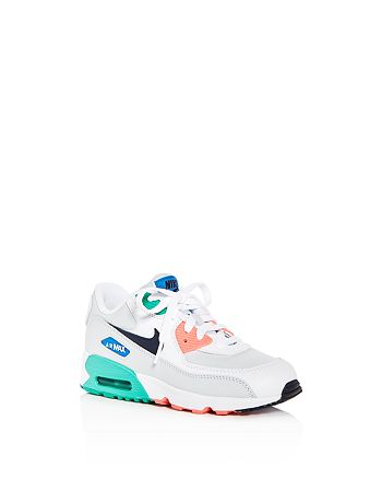 7aad47315 Nike - Boys  Air Max 90 LTR Lace Up Sneakers - Toddler