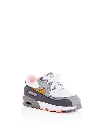 meet fe2b1 25128 Nike - Girls  Air Max 90 Color-Block Leather Lace Up Sneakers - Walker