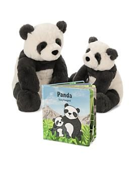 Jellycat - Harry Panda & Panda Book - Ages 0+