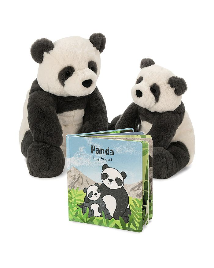 Jellycat - Harry Panda & Panda Book - Ages 0+