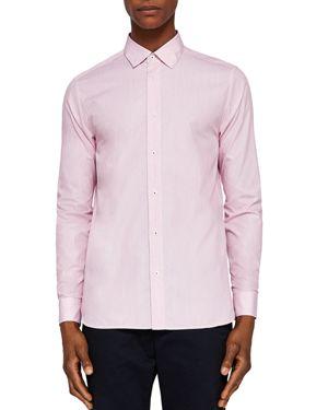 Ted Baker Stripe Regular Fit Button-Down Shirt