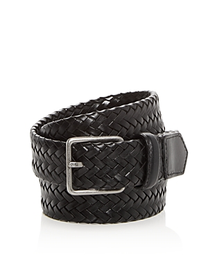 Cole Haan Woven Stretch Leather Belt