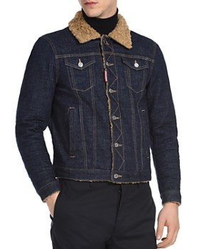 DSQUARED2 - Dan Sherpa-Lined Denim Jacket