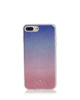kate spade new york - Sunset Ombré Glitter iPhone 7/8 Plus Case