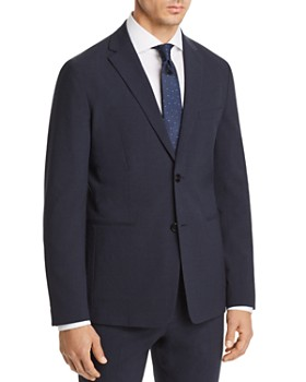 Theory - Gansevoort Seersucker Check Cotton Slim Fit Suit Jacket