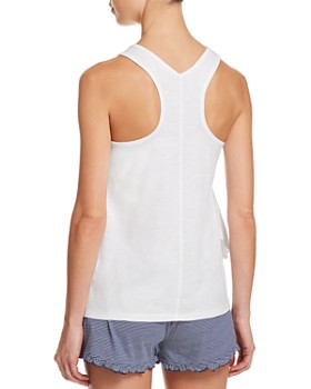 Splendid - Asymmetric Ruffle Sleep Tank