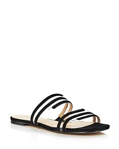 Botkier - Women's Maisie Suede Illusion Slide Sandals