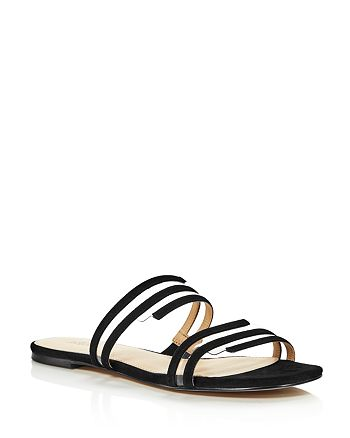 Botkier - Women's Maisie Suede Illusion Slide Sandals